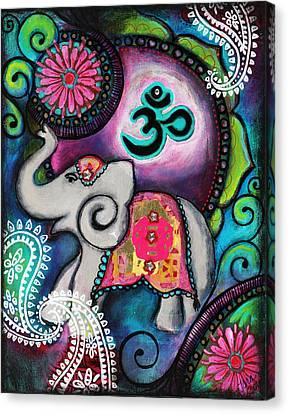 Strength Along The Path Canvas Print by Tara Catalano
