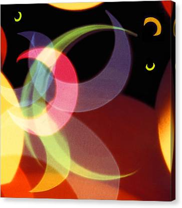 String Of Lights 1 Canvas Print by Mike McGlothlen