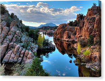 Strong And Peaceful Canvas Print by Thomas  Todd