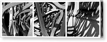 Structure #3 Canvas Print by Tom Gallahue