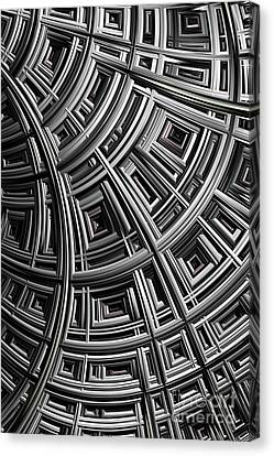 Structure Canvas Print by John Edwards