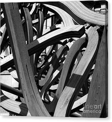 Structure Canvas Print by Tom Gallahue