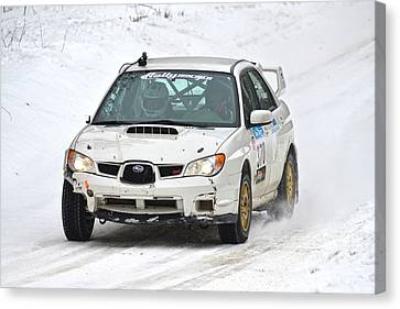 Subaru Car 370 Canvas Print by Rick Jackson