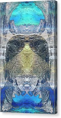 Subconscious Canvas Print by Ursula Freer