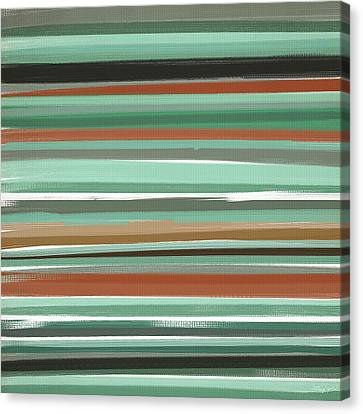 Subtle And Balance Canvas Print by Lourry Legarde