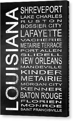 Subway Louisiana State 1 Canvas Print by Melissa Smith