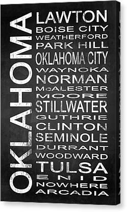 Subway Oklahoma State 1 Canvas Print by Melissa Smith