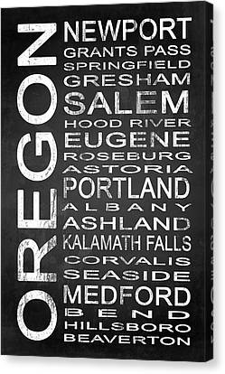 Subway Oregon State 1 Canvas Print by Melissa Smith