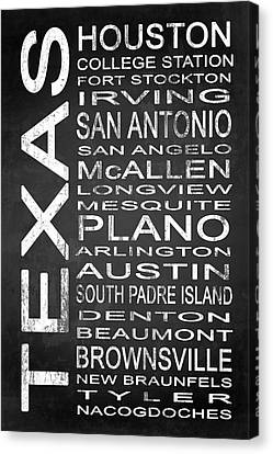Subway Texas State 1 Canvas Print by Melissa Smith