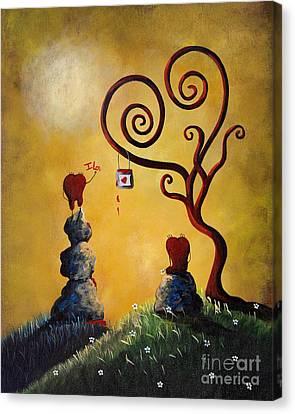 Such A Romantic By Shawna Erback Canvas Print by Shawna Erback