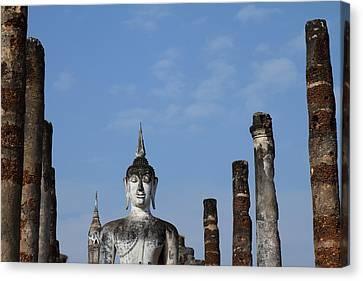 Sukhothai Historical Park - Sukhothai Thailand - 011338 Canvas Print by DC Photographer