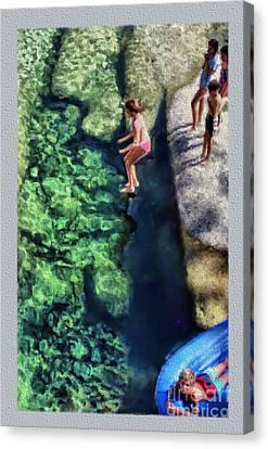 Summer At Yosemite Canvas Print by Jeff Breiman