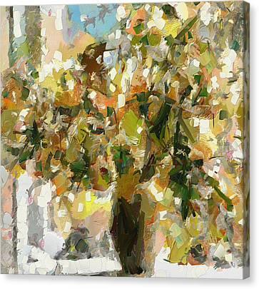 Summer Bouquet Canvas Print by Yury Malkov