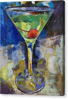 Summer Breeze Martini Canvas Print by Michael Creese
