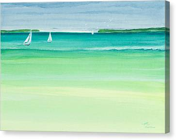 Summer Breeze Canvas Print by Michelle Wiarda