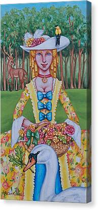 Summer Colonial Canvas Print by Beth Clark-McDonal