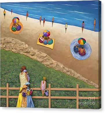 Summer Colours Canvas Print by Anne Klar
