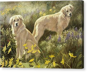 Summer Day Canvas Print by Lucie Bilodeau