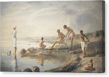 Summer Day Canvas Print by Odd Nerdrum