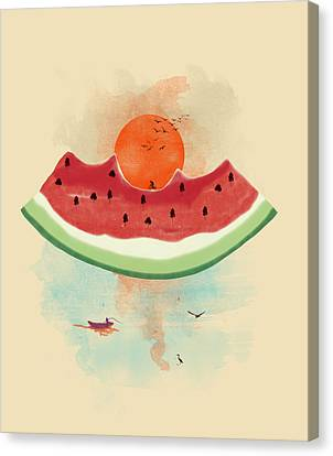 Summer Delight Canvas Print by Neelanjana  Bandyopadhyay