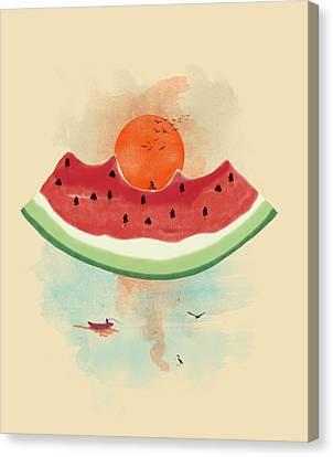 Summer Delight Canvas Print by Neelanjana  Bandyopadhyay