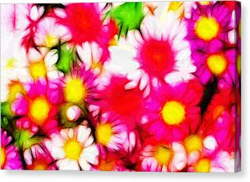Summer Garden Canvas Print by Stefan Kuhn