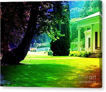 Summer House Canvas Print by Michelle Stradford