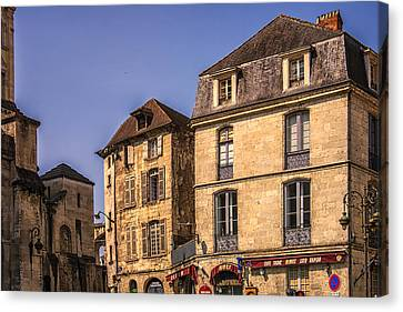 Summer In Perigueux Canvas Print by Georgia Fowler