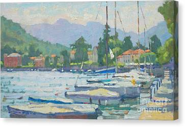Summer In The Afternoon Canvas Print by Jerry Fresia