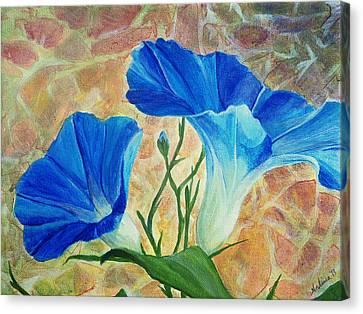 Summer Morning Canvas Print by Arlissa Vaughn