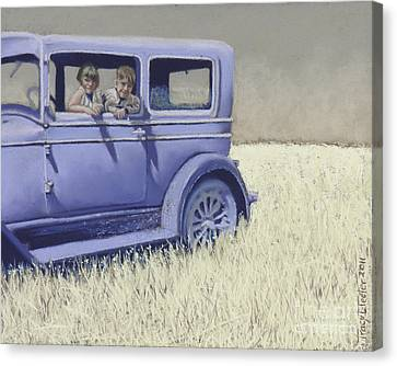 Summer Of '29 Canvas Print by Tracy L Teeter