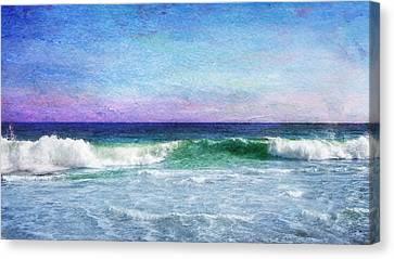 Summer Salt Canvas Print by Laura Fasulo