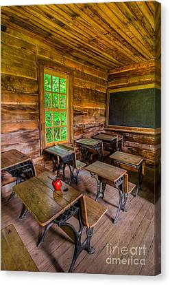 Summer School Canvas Print by Anthony Heflin