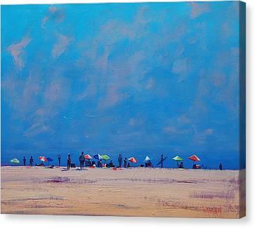 Summer Sky Canvas Print by Graham Gercken