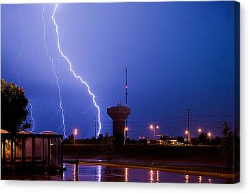 Summer Storm Canvas Print by Jim Finch