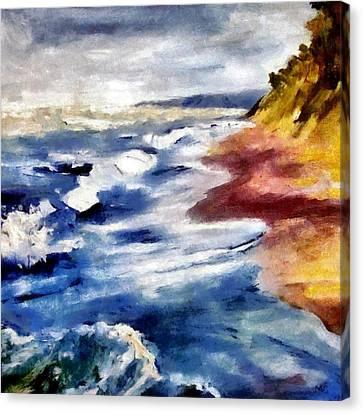 Summer Tempest Canvas Print by Michelle Calkins