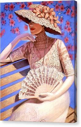 Summer Time Canvas Print by Sue Halstenberg