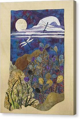 Summer Twilight Canvas Print by Lynda K Boardman
