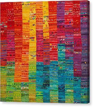 Summer Vibrations Canvas Print by Susan Rienzo