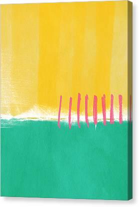 Summer Walk Canvas Print by Linda Woods
