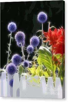 Summerflowers Graphic Canvas Print by Lutz Baar