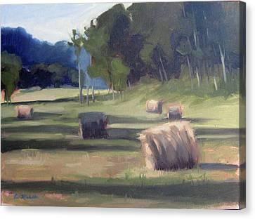 Summer's Shade Canvas Print by Erin Rickelton