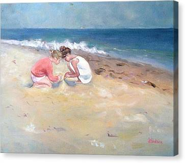 Summertime Canvas Print by Dorothy Siclare