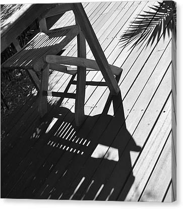 Summertime Shadows Canvas Print by Cheryl Miller