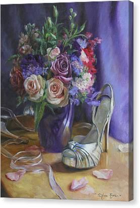 Summertime Stilettos Canvas Print by Anna Rose Bain