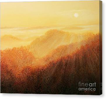 Sun Caress Canvas Print by Kiril Stanchev