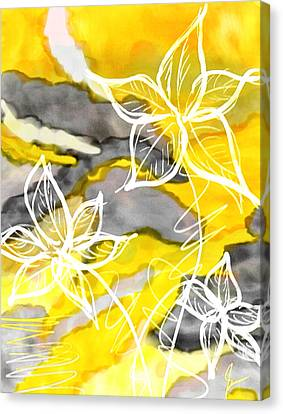 Sun In Spring Canvas Print by Lourry Legarde