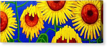 Sun Lovers Canvas Print by John  Nolan