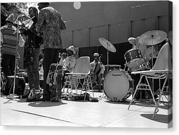 Sun Ra Arkestra Uc Davis Quad 2 Canvas Print by Lee  Santa