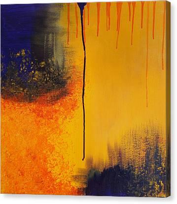 Sun Rising Canvas Print by Kristine Bogdanovich